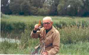 Ivan Magill fishing, P101.16