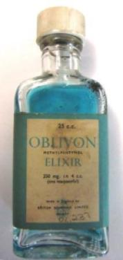 The sedative Oblivon, c1950