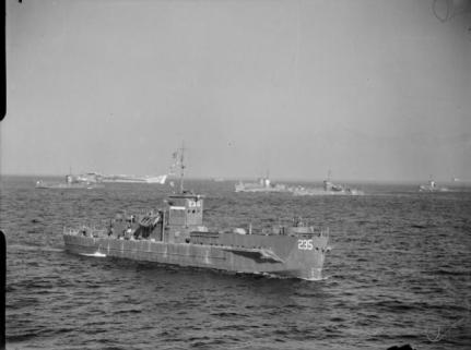 LSI LCT USA Salerno 1943