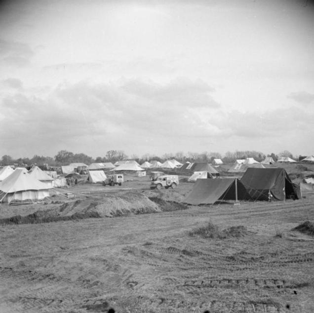 Medical Complex at Anzio beachhead  © IWM (NA 12424)