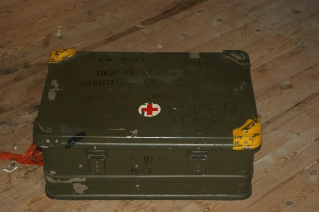 The military casing for the Triservice