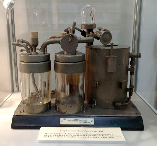 Intratracheal Apparatus, 1927