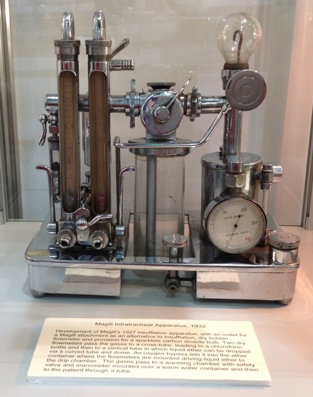 Intratracheal Apparatus, 1932