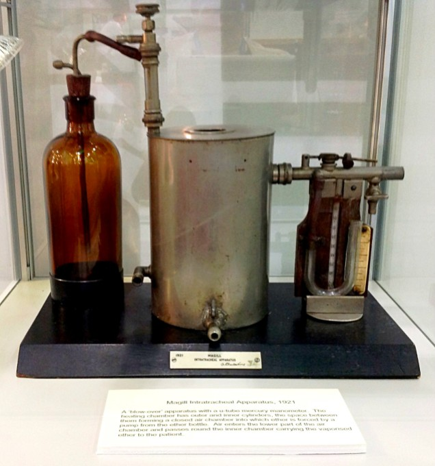 Intratracheal apparatus, 1921