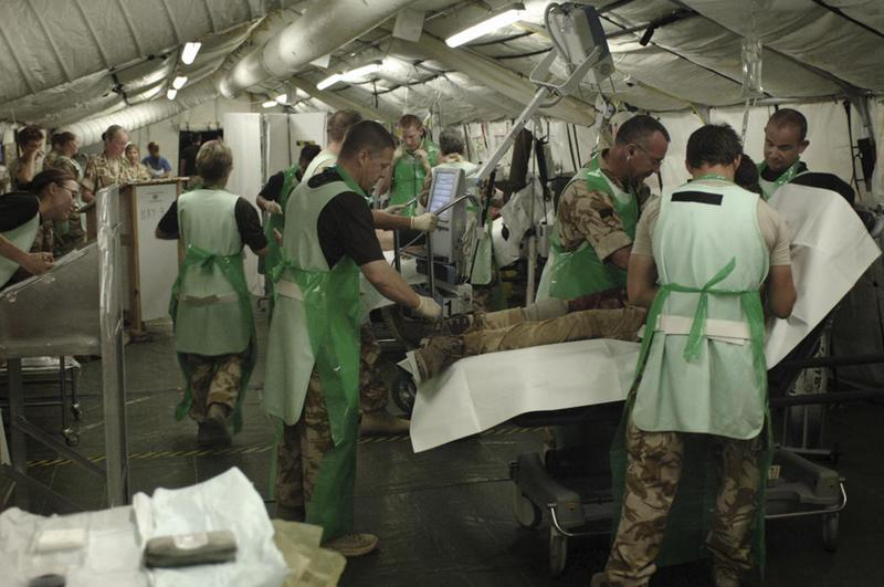 Emergency Department at Camp Bastion, 2007