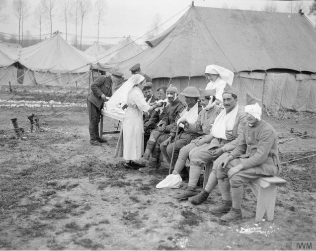© IWM (Q 8734) No. 29 Casualty Clearing Station at Gezaincourt